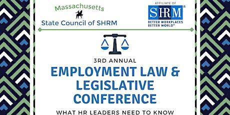2021 MassSHRM Employment Law & Legislative Conference tickets