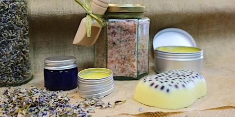 Homemade Cosmetics Course / Cwrs Cosmetigau Cartref tickets