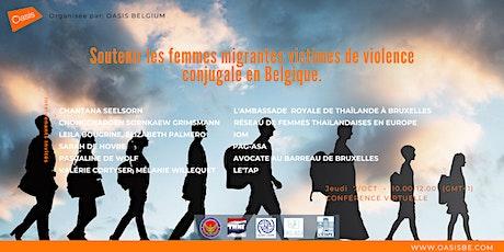 Soutenir les femmes migrantes victimes de violence conjugale billets