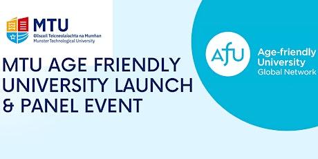 MTU Age Friendly University Launch & Panel Event tickets