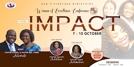 Women of Excellence Conference 2021  | 'Impact' tickets