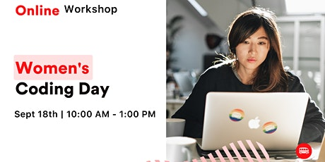 Women's Coding Day: Learn how to build your first landing page  Tickets