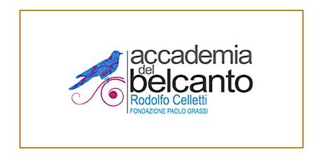 """Concerto degli artisti dell'""""Accademia del Belcanto"""" 2021 con Markus Werba biglietti"""