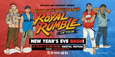 Event: Kings of the Rollers x The Blast // NYE Bash! tickets