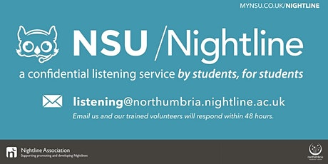 NSU Nightline Listening Training tickets