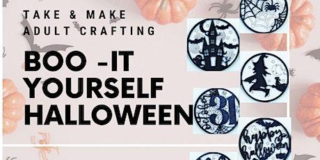 Boo-It Yourself Halloween tickets