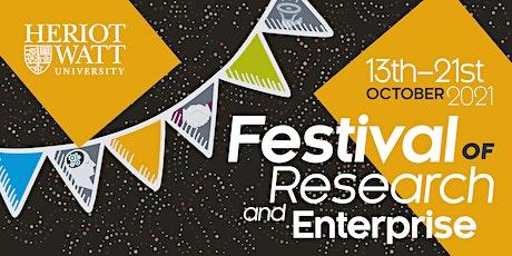 HW Festival of Research and Enterprise - Unlocking Scientific Secrets tickets