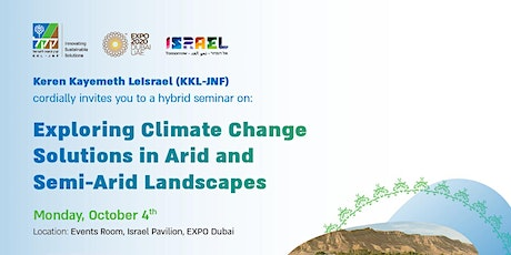 Exploring Climate Change Solutions in Arid and Semi-Arid Landscapes tickets