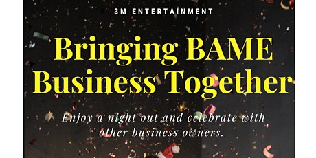 Celebrating BAME Business tickets