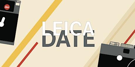 Leica Date #1 au Leica Store Paris Faubourg Saint-Honoré billets