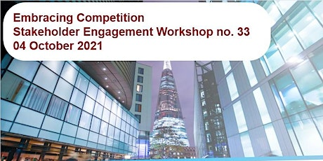 UK Power Networks / Embracing Competition tickets