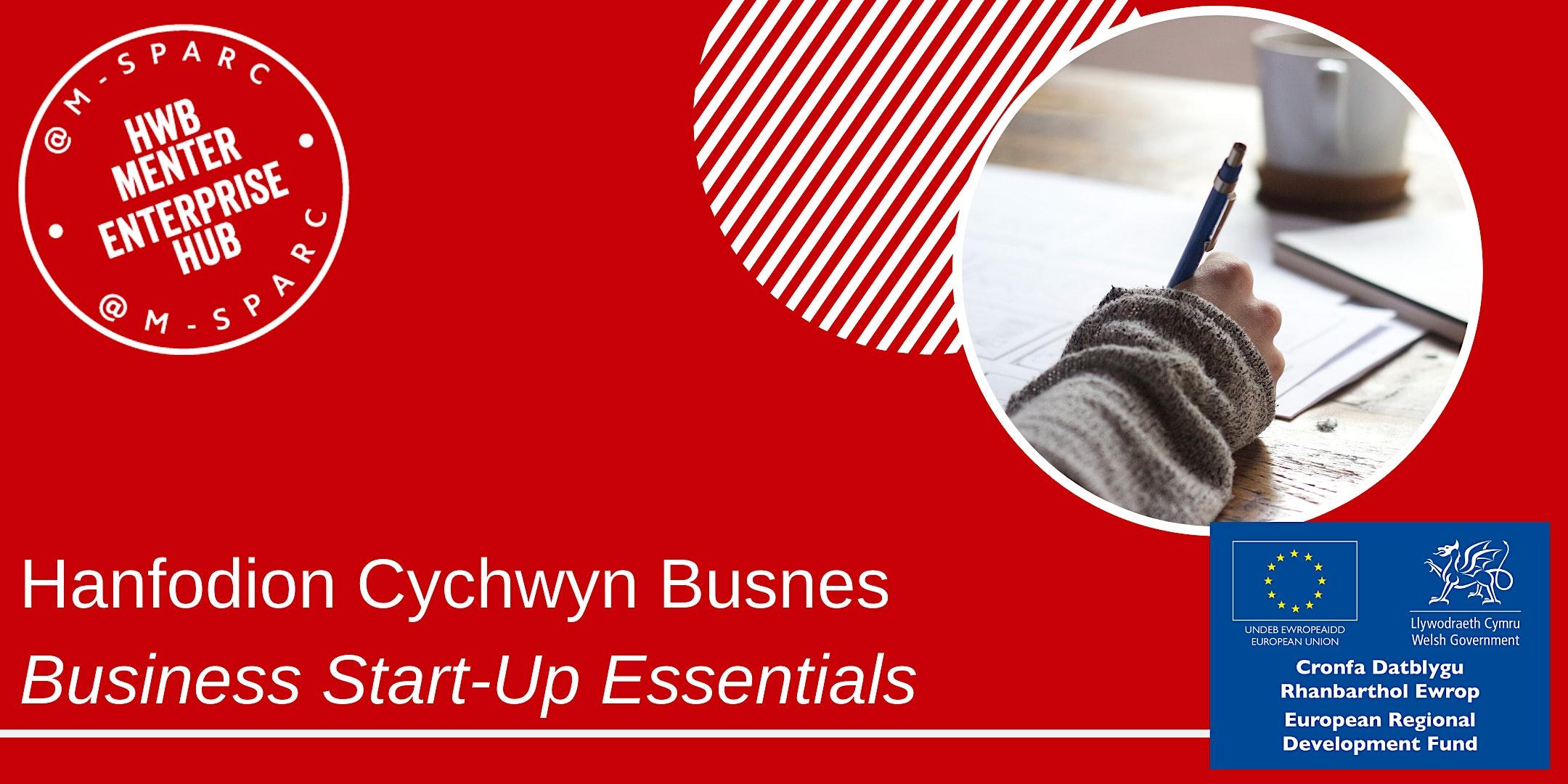 ONLINE - Hanfodion Cychwyn Busnes / Business Start-Up Essentials