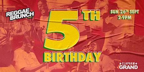 Reggae Brunch is Turning 5! tickets