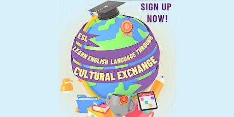 ESL Cultural Exchange meetup - TASTER session! tickets