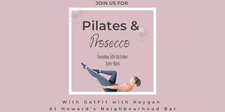 Pilates & Prosecco tickets