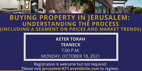 Buying Property in Jerusalem: Understanding the Process tickets