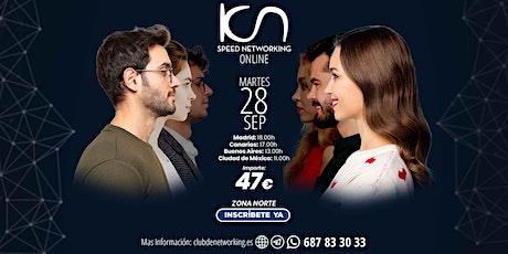 KCN Speed Networking Online Zona Norte 28 Sep tickets