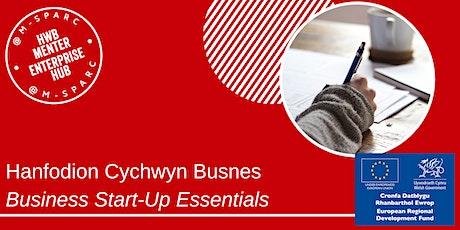 ONLINE - Hanfodion Cychwyn Busnes / Business Start-Up Essentials tickets