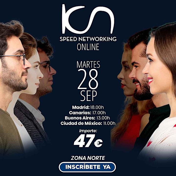 Imagen de KCN Speed Networking Online Zona Norte 28 Sep