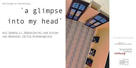 "Vernissage:  ""a glimpse into my head"" –Sandra Li Tickets"