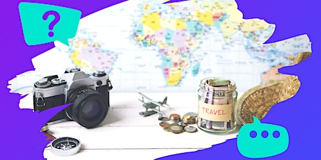 Travel Talk: How to Travel the World on a budget tickets