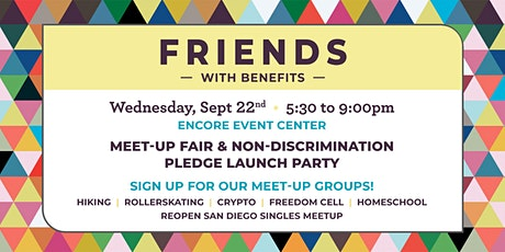 Friends with Benefits ReOpen San Diego Meet-Up tickets