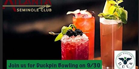Atlanta Seminole Club Duckpin Bowling Social tickets