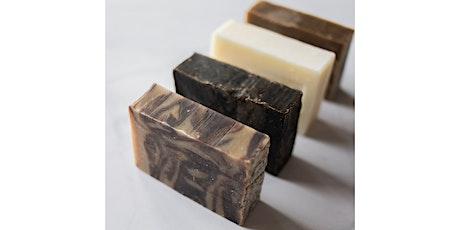 Botanical soap making workshop ONLINE tickets