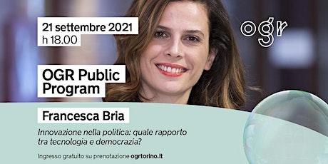 """""""Scintille"""" presenta Francesca Bria tickets"""