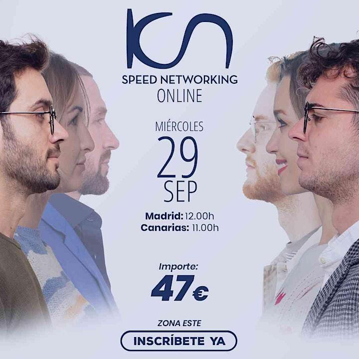 Imagen de KCN Speed Networking Online Zona Este 29 Sep