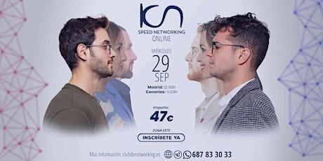 KCN Speed Networking Online Zona Este 29 Sep entradas