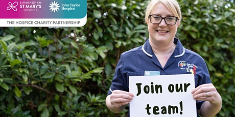 The Hospice Charity Partnership recruitment session tickets