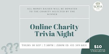 SOFIA UTS Charity Trivia tickets