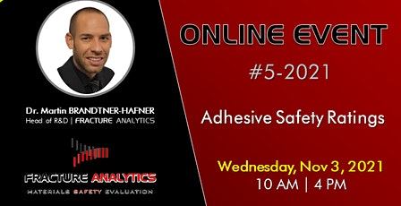 Adhesive Safety Ratings - AM Session tickets