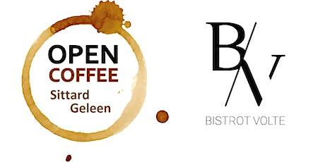 Open Coffee oktober 2021 - Bistrot Volte billets