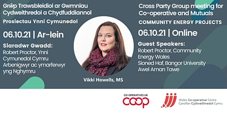 Cross Party Group Meeting October 2021: Community Energy Projects tickets