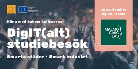 DigIT(alt) studiebesök: Malmö Civic Lab biljetter
