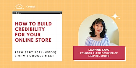 How To Build Credibility For Your Online Store tickets