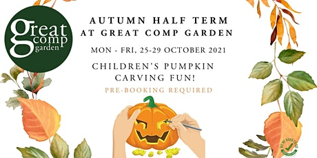 Children's Pumpkin Carving tickets