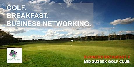 Business Breakfast 9 - Business. Breakfast. Golf. December 2021 tickets
