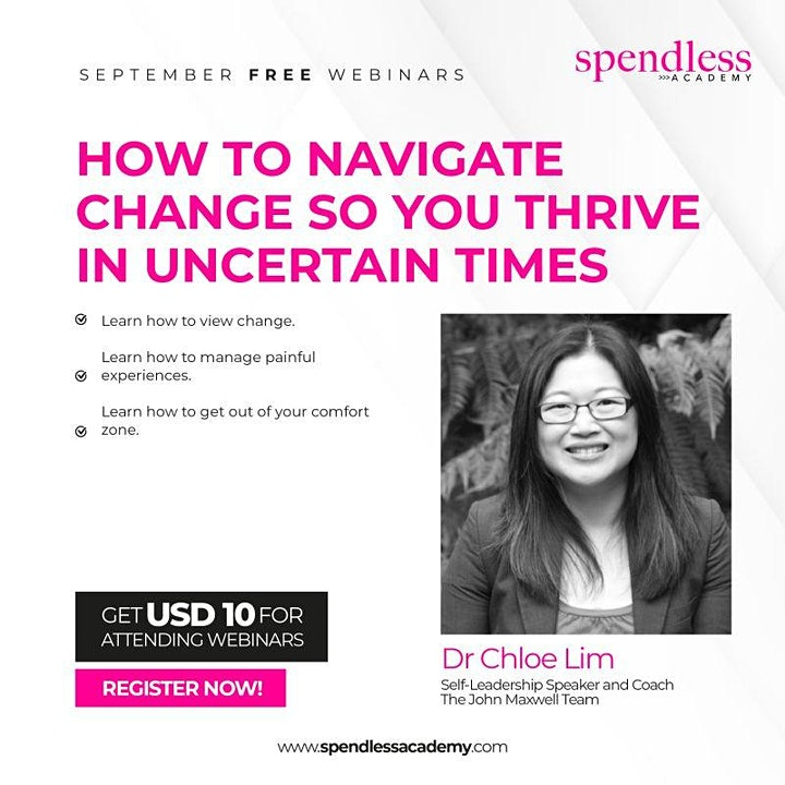 How To Navigate Change So You Thrive In Uncertain Times - Webinar image