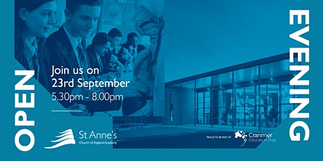 St Anne's Academy Opening Evening tickets