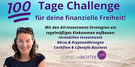 25.10. Live Online-Training: Nebenbei investieren & finanziell frei werden Tickets