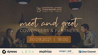 meet and greet Coworkers & Partners   Community Event Tickets