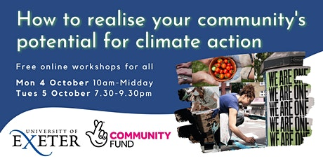 How to realise your community's potential for climate action tickets