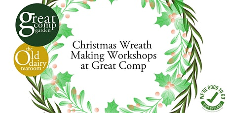 Christmas Wreath Making Workshop and Lunch tickets