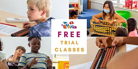 Free Mental Arithmetic Trial Class on the 25 and 26 September tickets