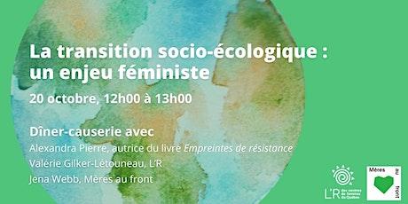 L'approche féministe intersectionnelle à travers la transition écologique billets