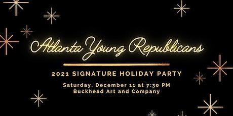 Atlanta Young Republicans 2021 Signature Holiday Party tickets