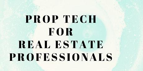 Prop Tech for Real Estate Professionals entradas